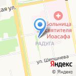 Участковый пункт полиции №15 на карте Белгорода
