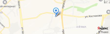 Виталс на карте Белгорода