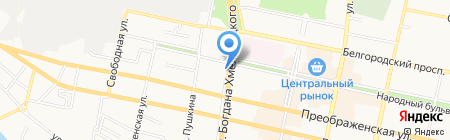 Рос Деньги на карте Белгорода