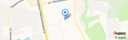 Управляющая компания по жилью РЭУ-4 на карте Белгорода