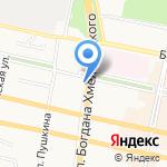 Быстроденьги на карте Белгорода