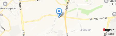 Forte на карте Белгорода