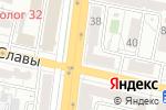 Схема проезда до компании Service Apple в Белгороде