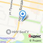 Спортмастер на карте Белгорода