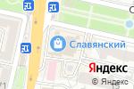 Схема проезда до компании Славянский в Белгороде