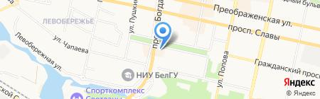 СтройСтеклоКомплект на карте Белгорода