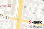 Схема проезда до компании Богданка 38 в Белгороде