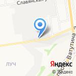 ГЛАСС ТЕХНОЛОДЖИ на карте Белгорода