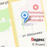 Стоматологический кабинет Орловой Н.В. на карте Белгорода