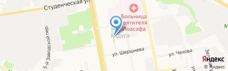 Библиотека №2 на карте Белгорода