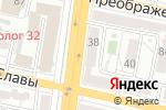 Схема проезда до компании Queen style в Белгороде