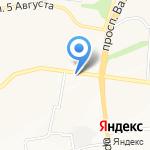 Лаки-краски на карте Белгорода