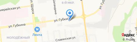 Илион на карте Белгорода