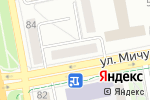 Схема проезда до компании Диадема в Белгороде