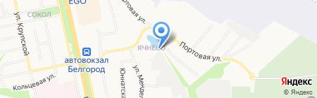 Надежный на карте Белгорода