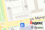 Схема проезда до компании Курс Финанс в Белгороде