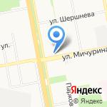 Диадема на карте Белгорода