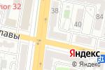 Схема проезда до компании Новая оптика в Белгороде