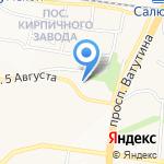 Клиника позвоночника и стопы на карте Белгорода