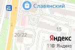 Схема проезда до компании Алмея Белгород в Белгороде