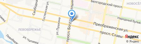 История любви на карте Белгорода