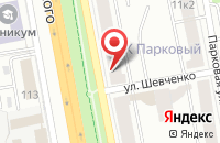 Схема проезда до компании Беркут в Белгороде