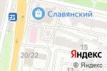 Схема проезда до компании ТайСПА в Белгороде