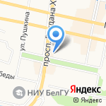 Храм Часовня во имя святителя Иоасафа на карте Белгорода