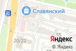 Схема проезда до компании СэндПРО в Белгороде
