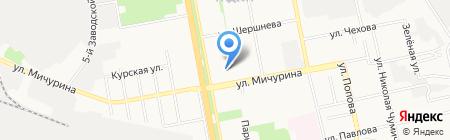 Верона на карте Белгорода