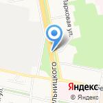 Лукошко на карте Белгорода