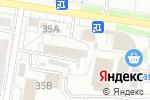 Схема проезда до компании DANZA в Белгороде