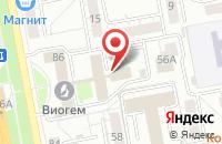 Схема проезда до компании ВИОГЕМ в Белгороде