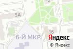 Схема проезда до компании Летучий Голландец в Белгороде