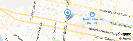 Легкий шаг на карте Белгорода