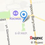 Тандем на карте Белгорода