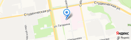 Белгородская областная клиническая больница Святителя Иоасафа на карте Белгорода