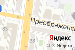 Схема проезда до компании Луиза в Белгороде