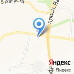 Плюшка на карте Белгорода