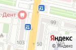 Схема проезда до компании Мир штор в Белгороде