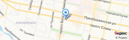 Библиотечный молодежный центр на карте Белгорода