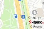 Схема проезда до компании Косметичка в Белгороде