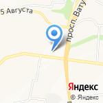 Магазин мясных продуктов на карте Белгорода