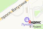 Схема проезда до компании Ворота 31 в Дубовом