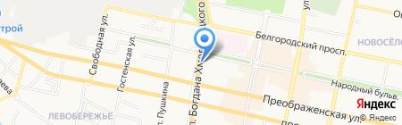 Космополит+ на карте Белгорода
