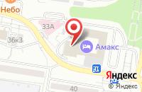 Схема проезда до компании Представитель в Белгороде