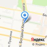 Магазин кондитерских изделий на карте Белгорода