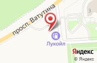 Схема проезда до компании АГЗС Газпром в Дубовом