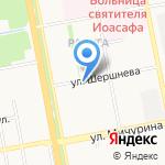 Легенда на карте Белгорода