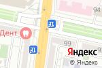 Схема проезда до компании Карат в Белгороде